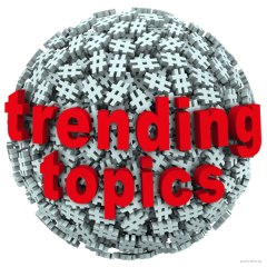 trending topics hashtag